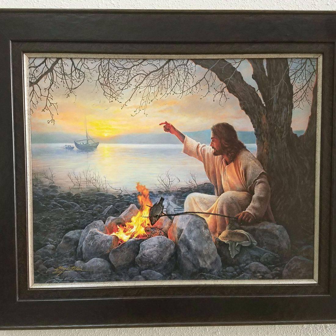 Custom picture framer st george  utah religious art