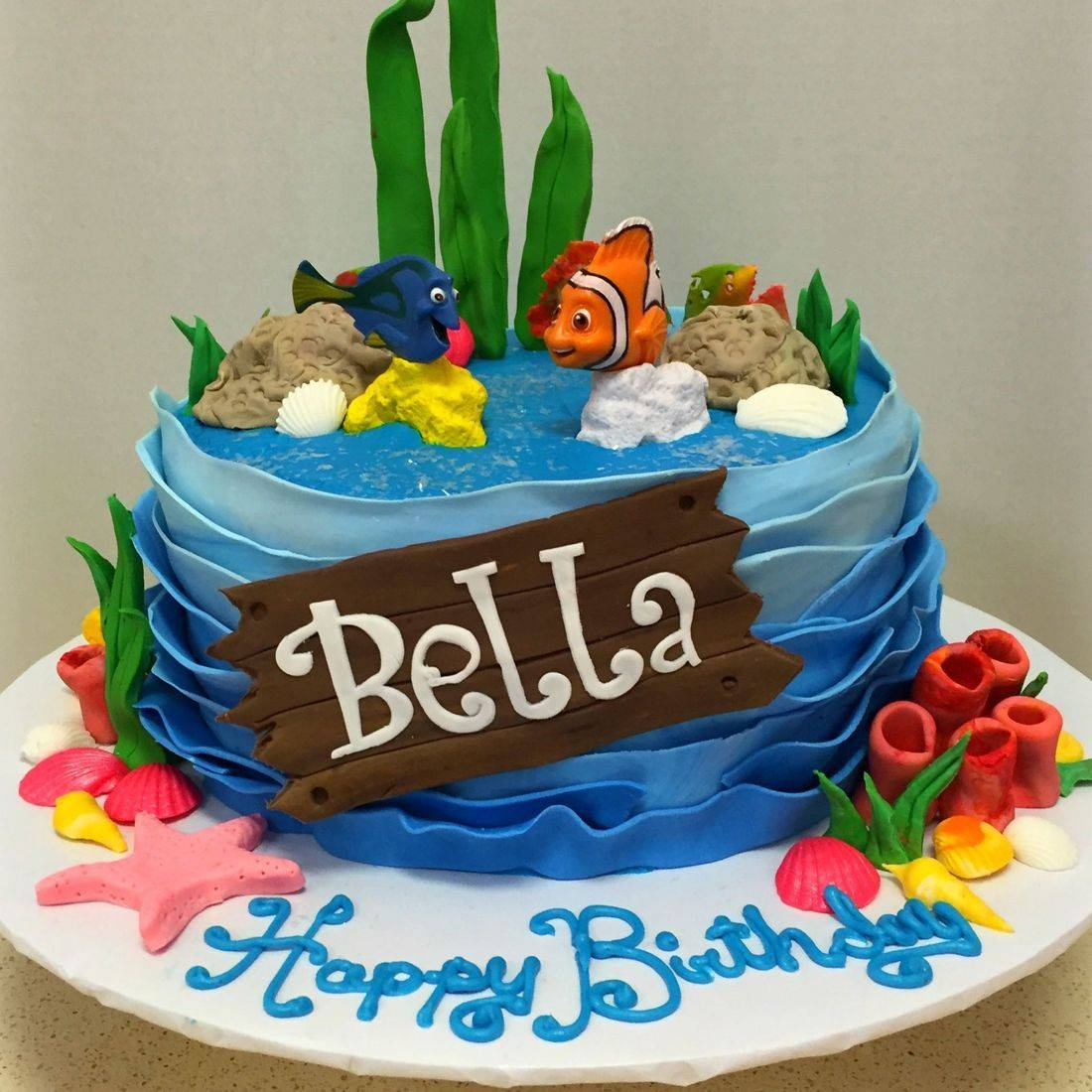 finding nemo birthday cake nemo dory underwater sea cake