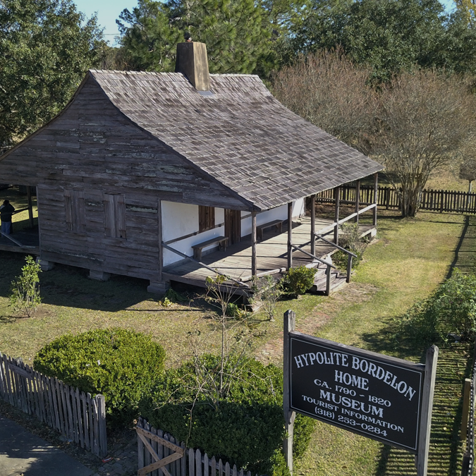 Historical Hypolite Bordelon House In Marksville,LA