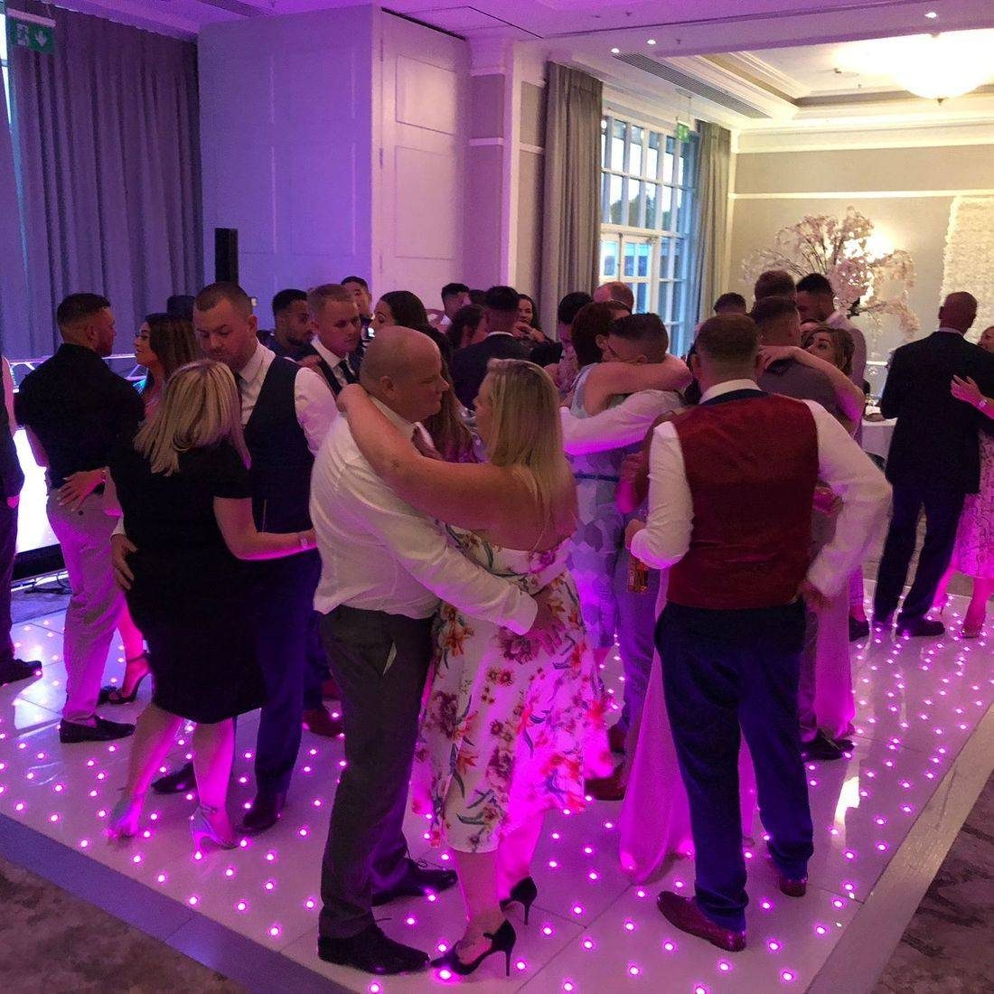DJ Ollie Clarke Wedding DJ LED Dancefloor Hire BIRMINGHAM