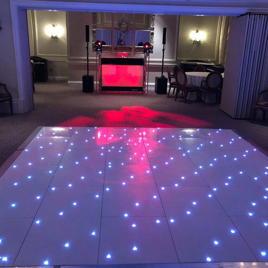 DJ Ollie Clarke Wedding DJ LED Dancefloor Hire Worcestershire