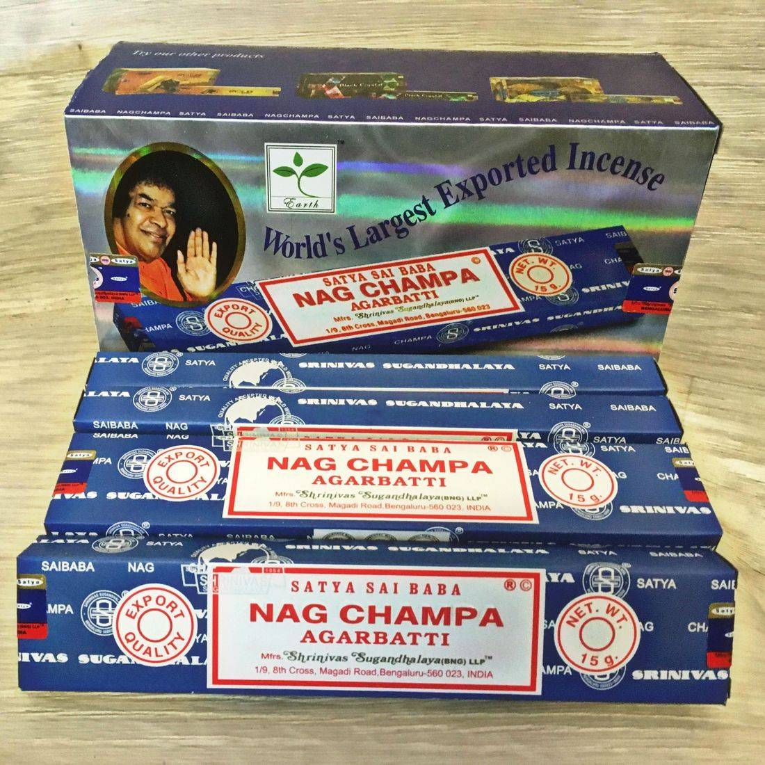 Nag Champa Incense Sticks Fragrance  Joss