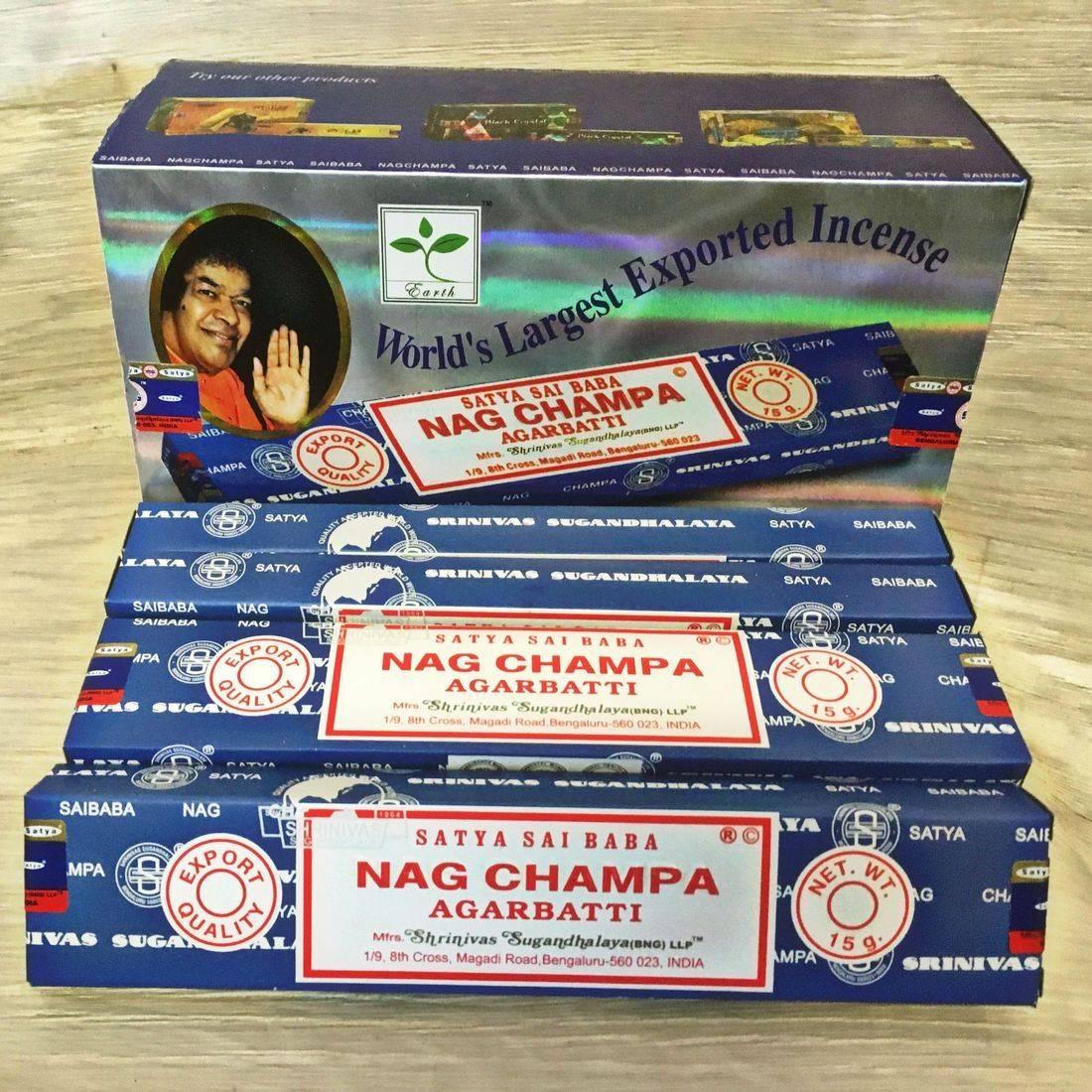 Nag Champa Incense Sticks Fragrance  Joss