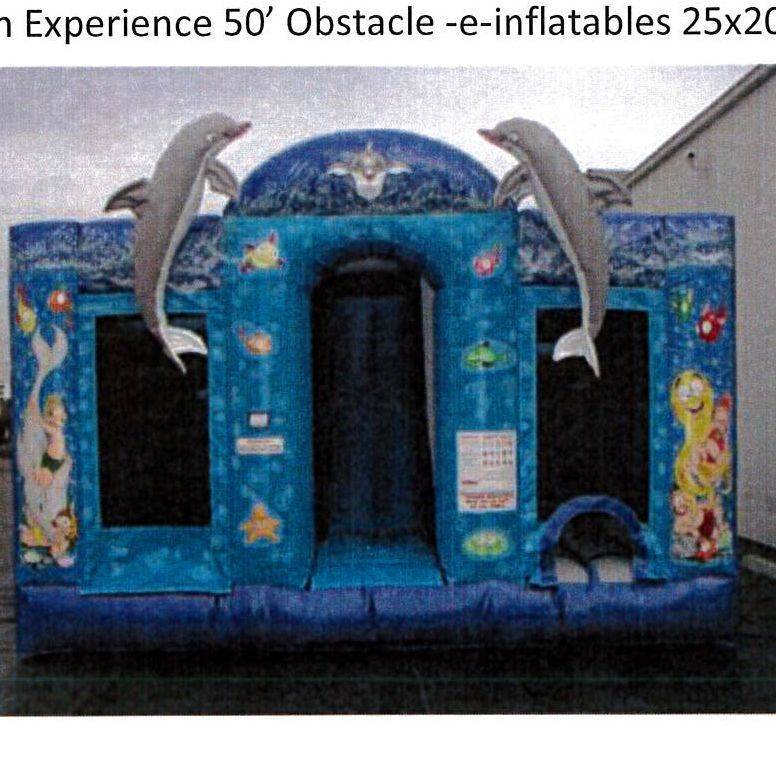 Dolphin Experience Obstacle Adventure 50'