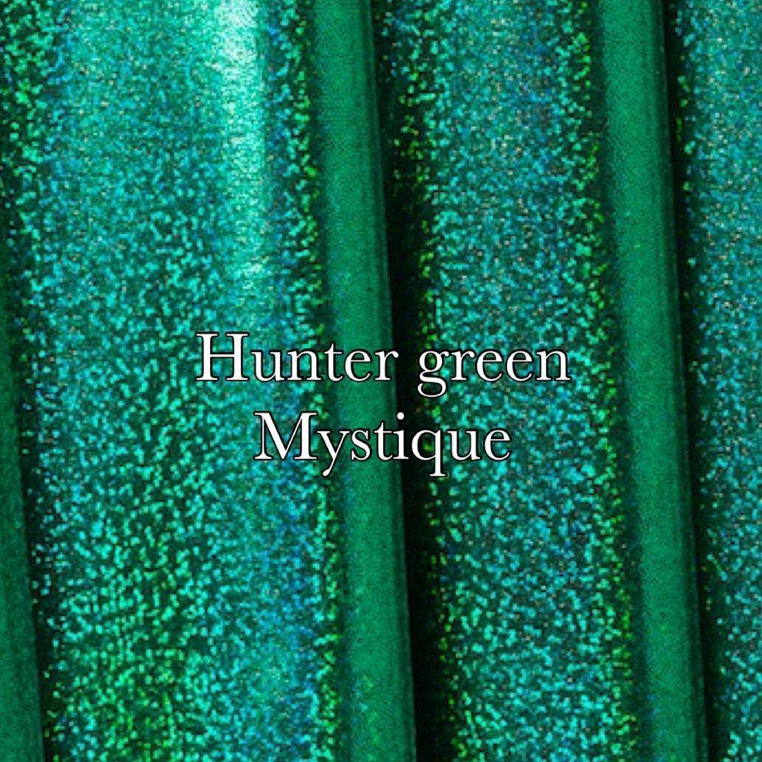 Emerald black holographic mist