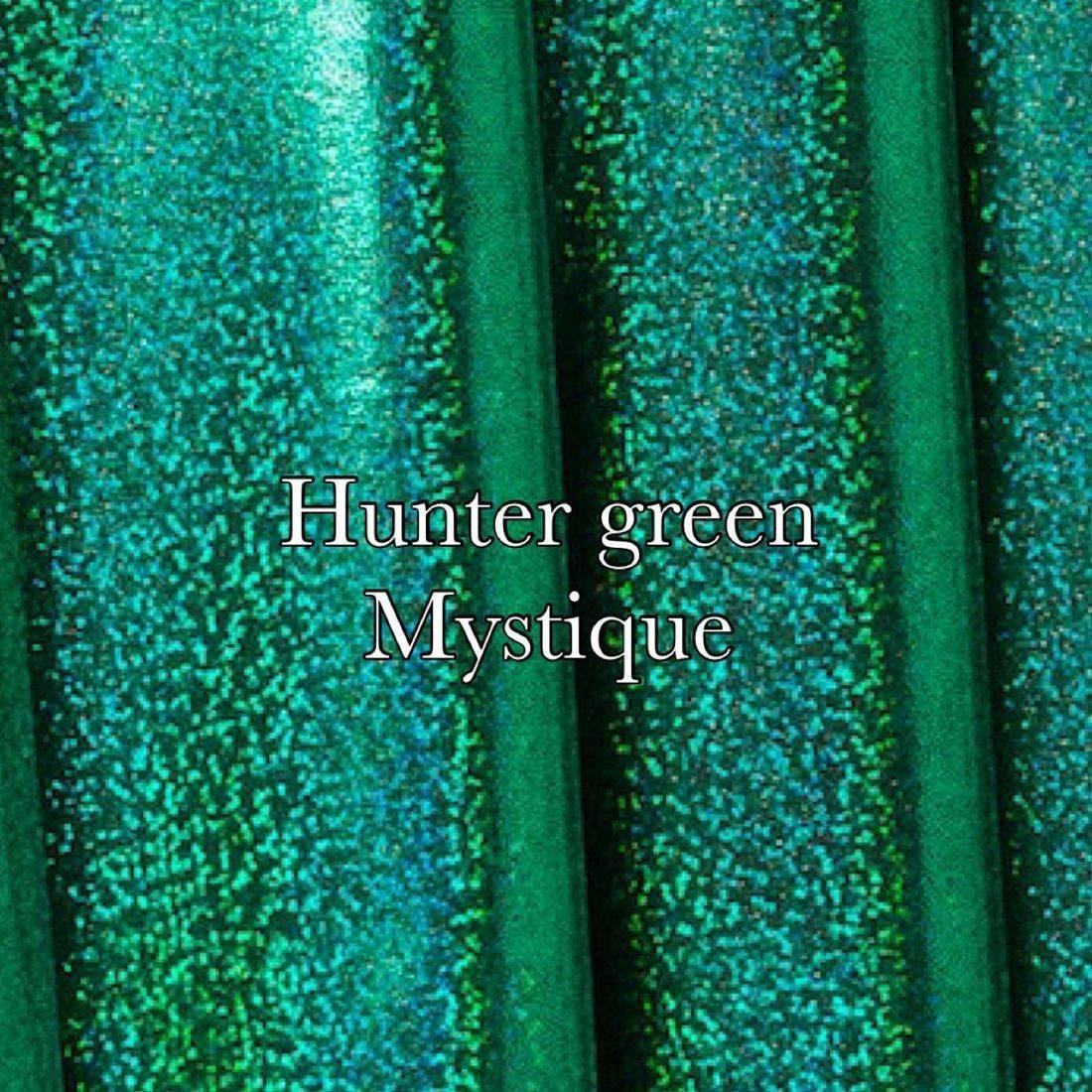 Emerald black holographic mist