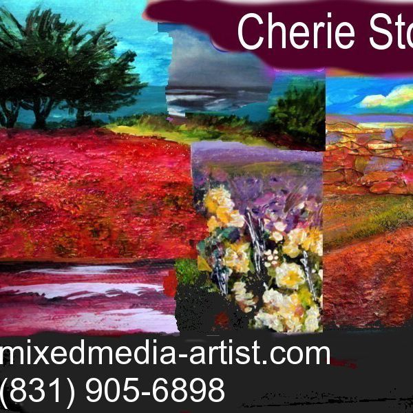 Cherie Stock business card