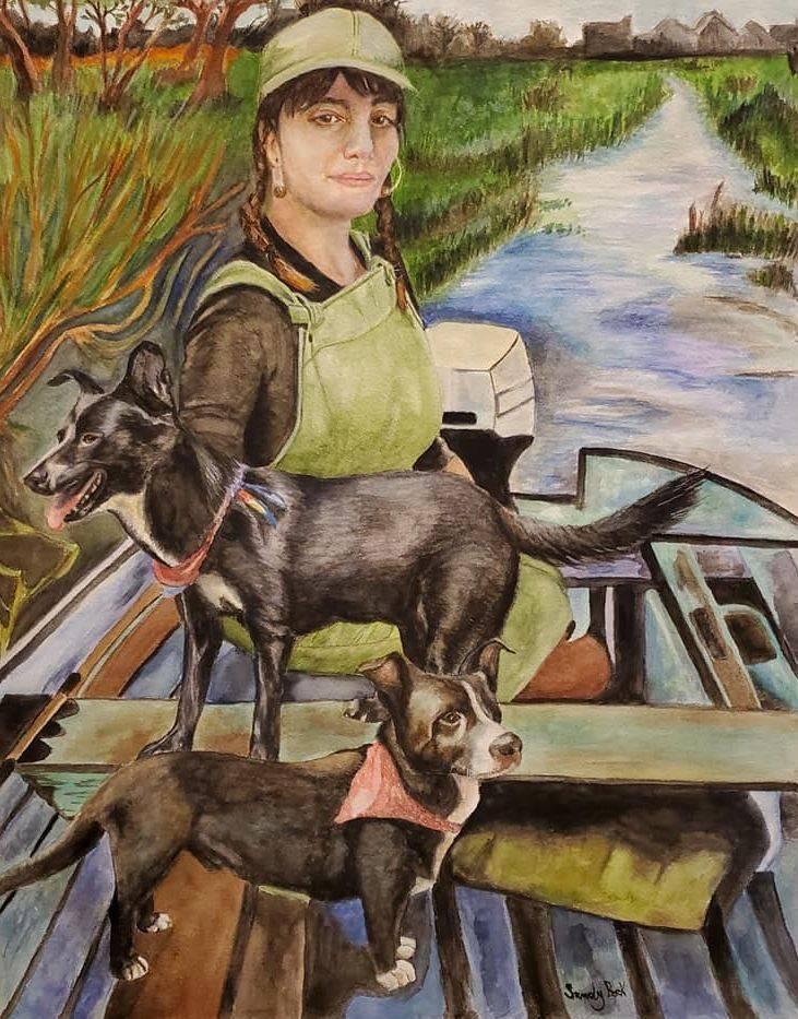 godfellas painting, goodfellas, watercolor painting, portrait artist, portrait illustration