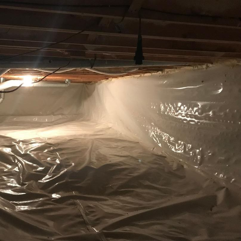 Asbestos Joint Tape on Duct work