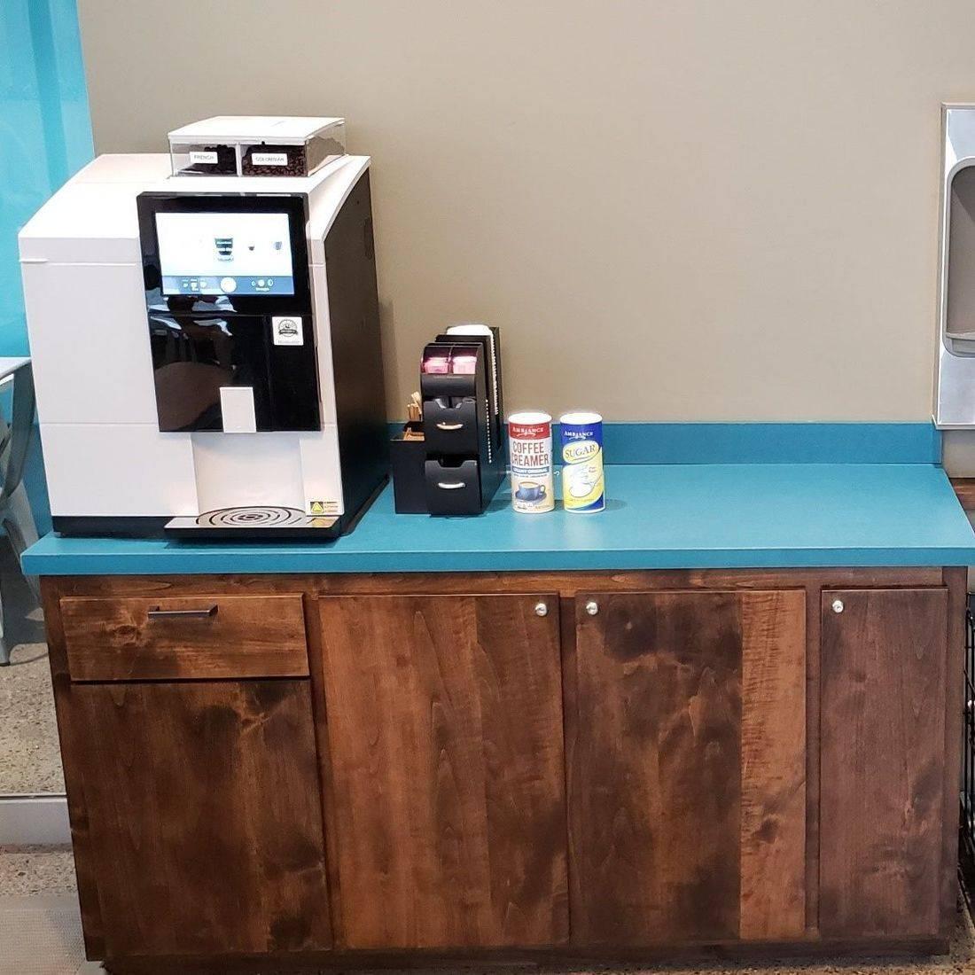 Coffee Bar for Lobby