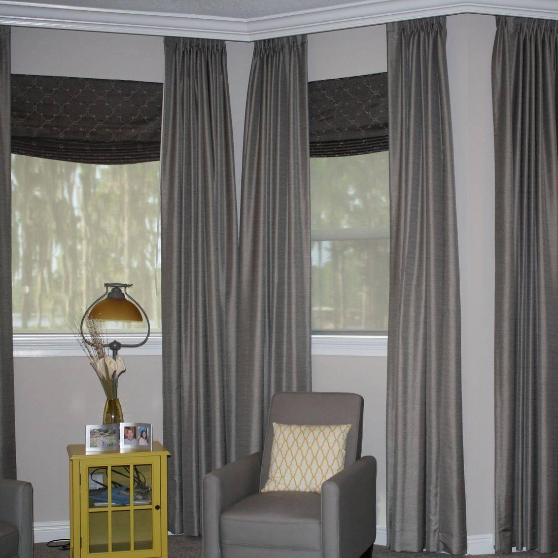 roller shade, solar shade, roman shade, folded roman, bedroom draperies
