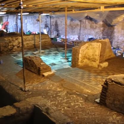 La construction d'une nouvelle ligne de métro à Rome permet aux archéologues de multiplier les découvertes !