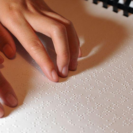braille books, braille materials
