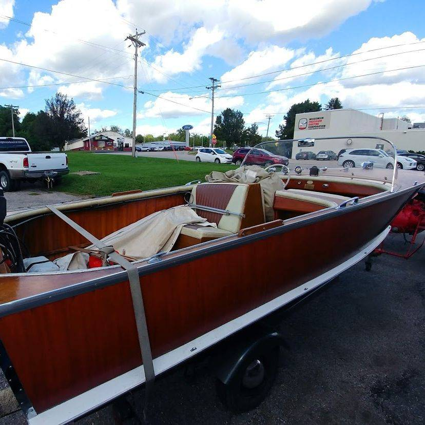 wood boats for sale lake geneva