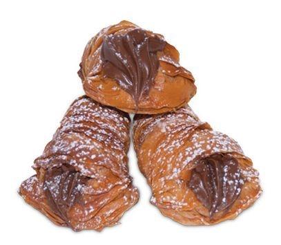 Aragostine Cioccolato Blätterteig gefüllt mit Schokolade