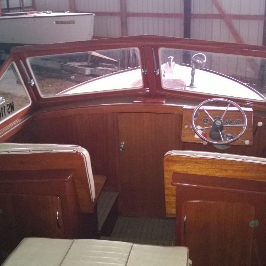 Wood boat for sale in Lake Geneva