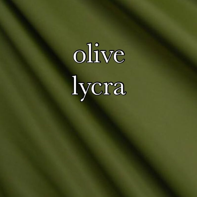 Olive lycra