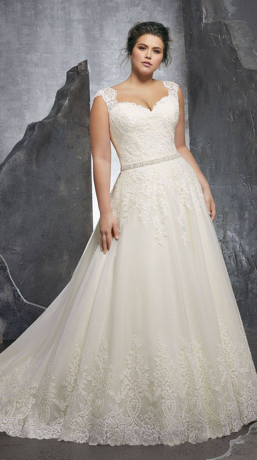 Mori Lee Plus Size Wedding Dress
