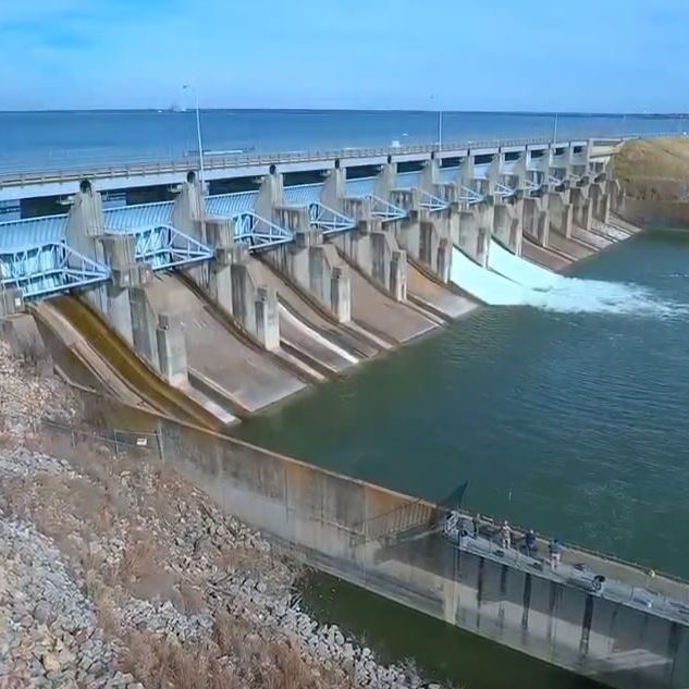 Lake Lavon Dam