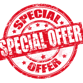 Special Offers-Discounts-Deals