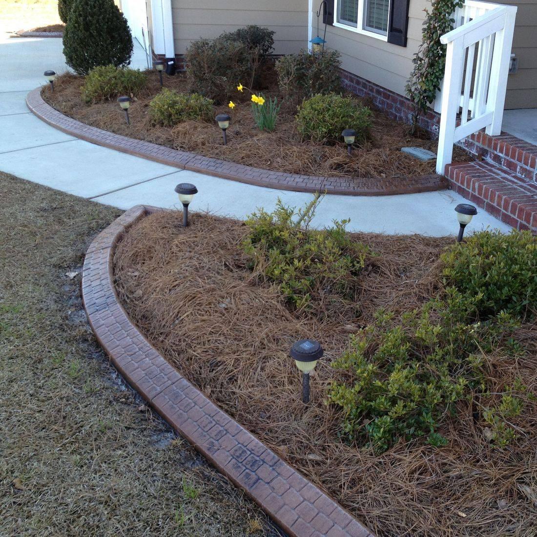 Concrete Edging in Winterville NC