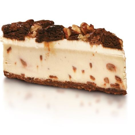 gluten free turtle cheesecake