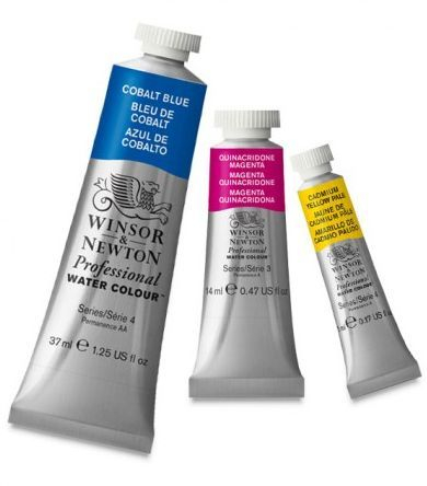 WINSOR AND NEWTON PROFESSIONAL OIL PAINTS