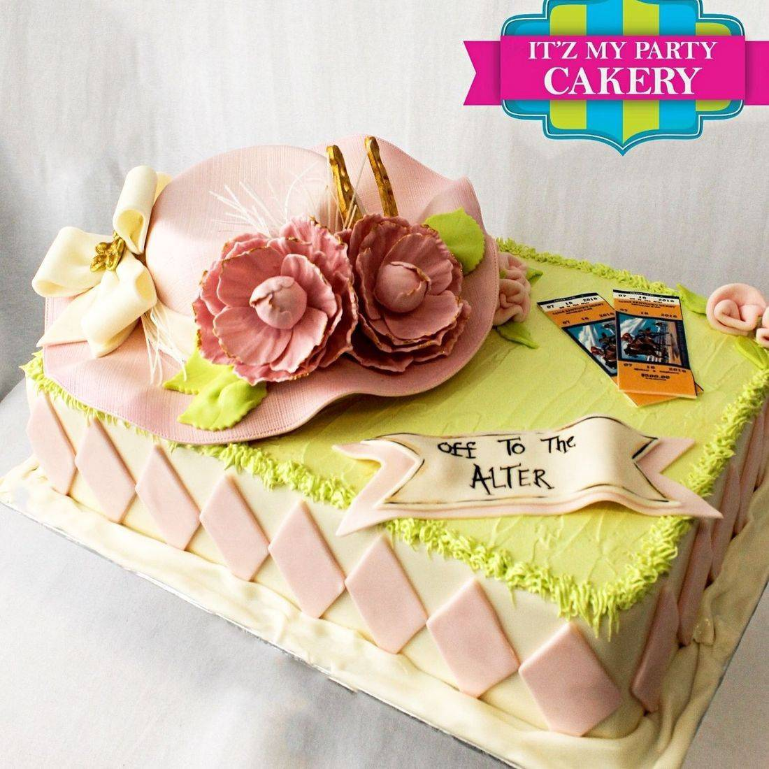 Kentucky Derby Dimensional Cake Milwaukee