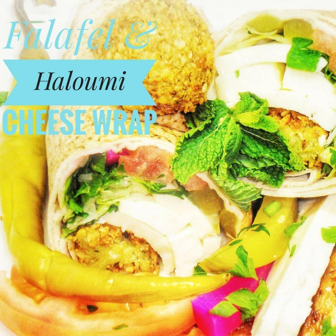 Falafel & Haloumi Cheese Wrap
