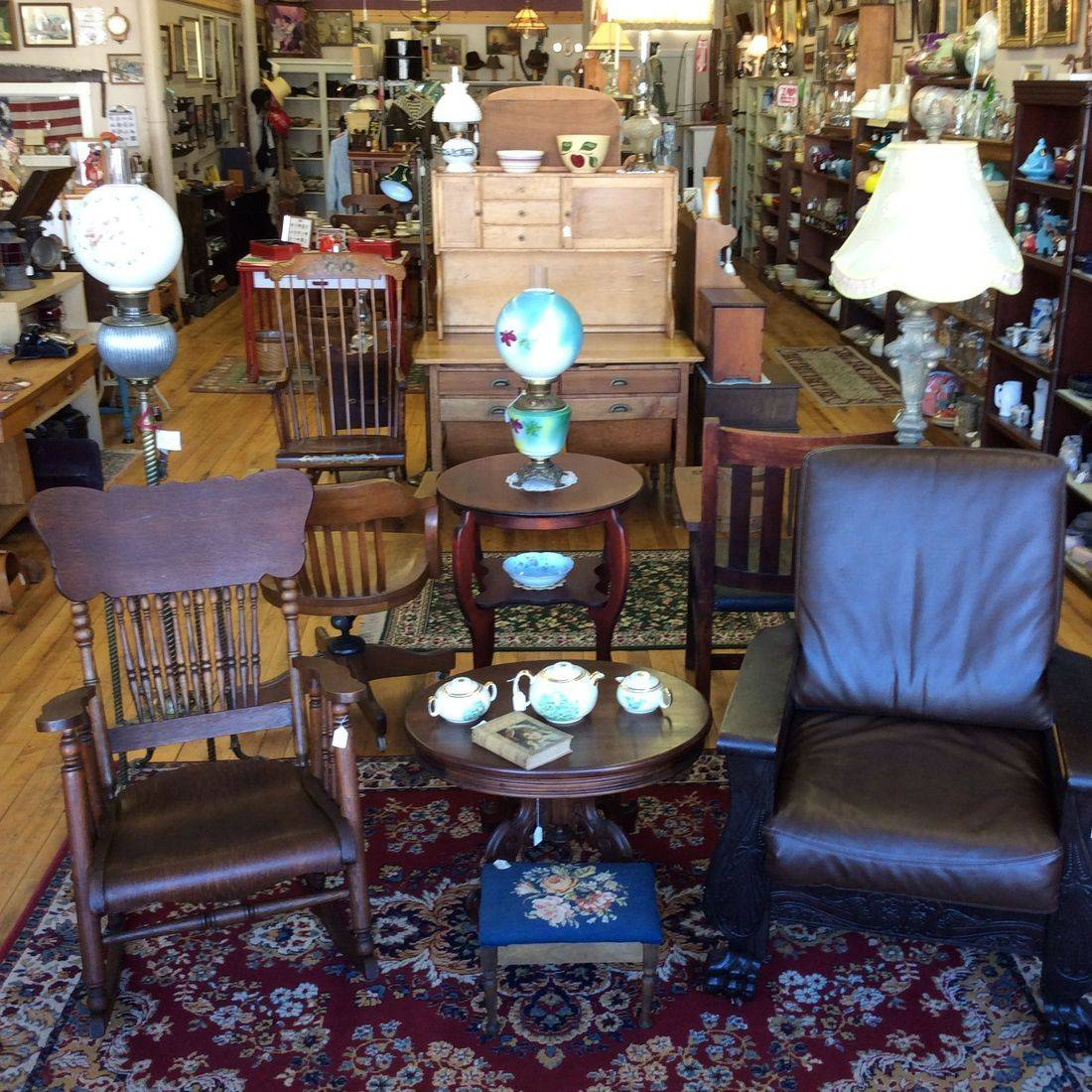"""""""Reflections from the Past"""" Antiques New Store and Showroom located at 3166 State St., Caledonia, NY"""