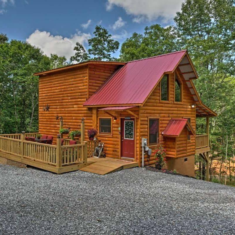 pet friendly vacation rental Rocking M Retreat Murphy NC, sleeps 4 cabin Murphy NC, couple's retreat cabin, Great Smoky mountains Cabin renta, vacation home rental,  Murphy NC