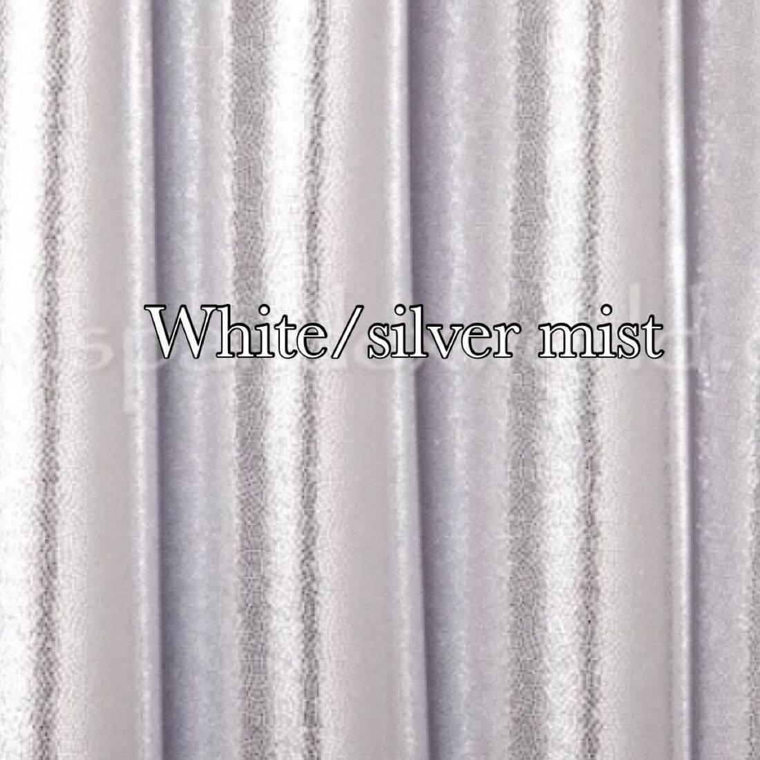 White/silver mist