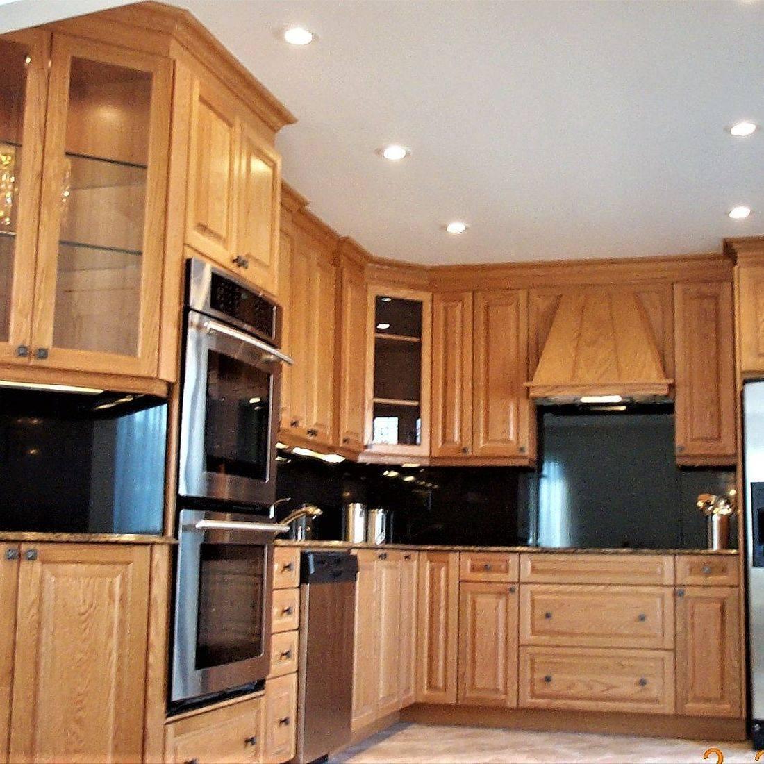 Sibra Kitchens Markham Toronto oak cabinets