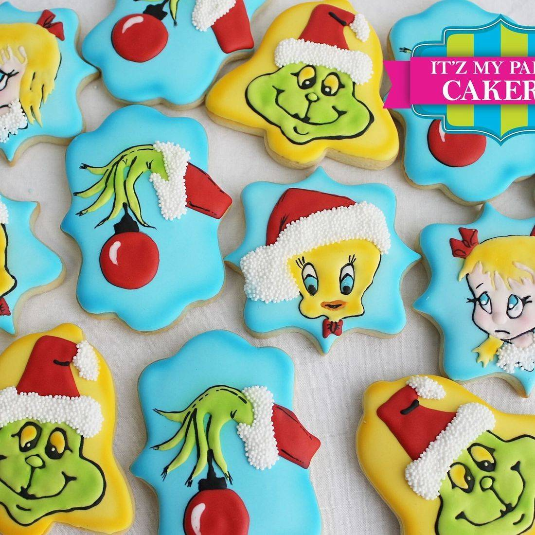 Grinch Tweety Bird Cindy Lu Who Christmas Cookies Milwaukee