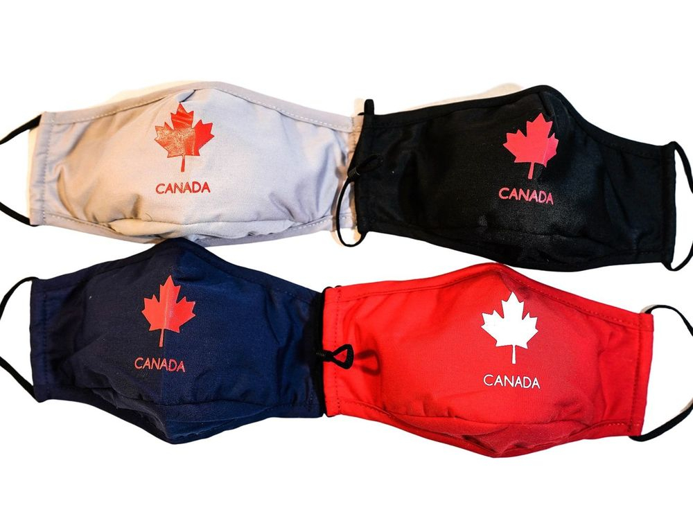 Classi Canadian Maple Leaf Cotton Non-Medical Face Mask