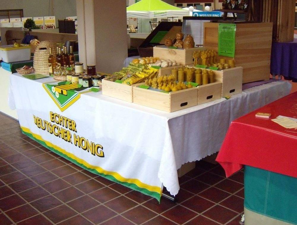 Jahrmarkt Veranstaltung Honig Zagst Imker Verkauf
