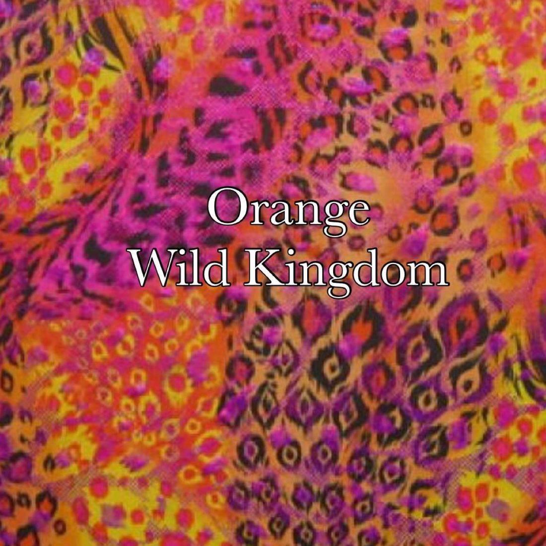 Orange wild kingdom
