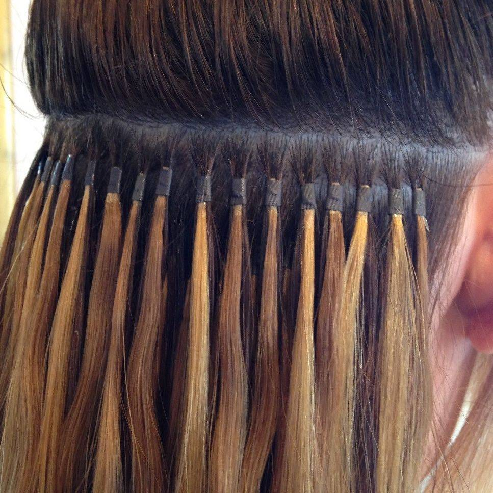 Micro-Rings, Nano-Rings, Micro-Tubes, Cold Fusion, Beaded Extensions, Micro-Bead and I-Tips.