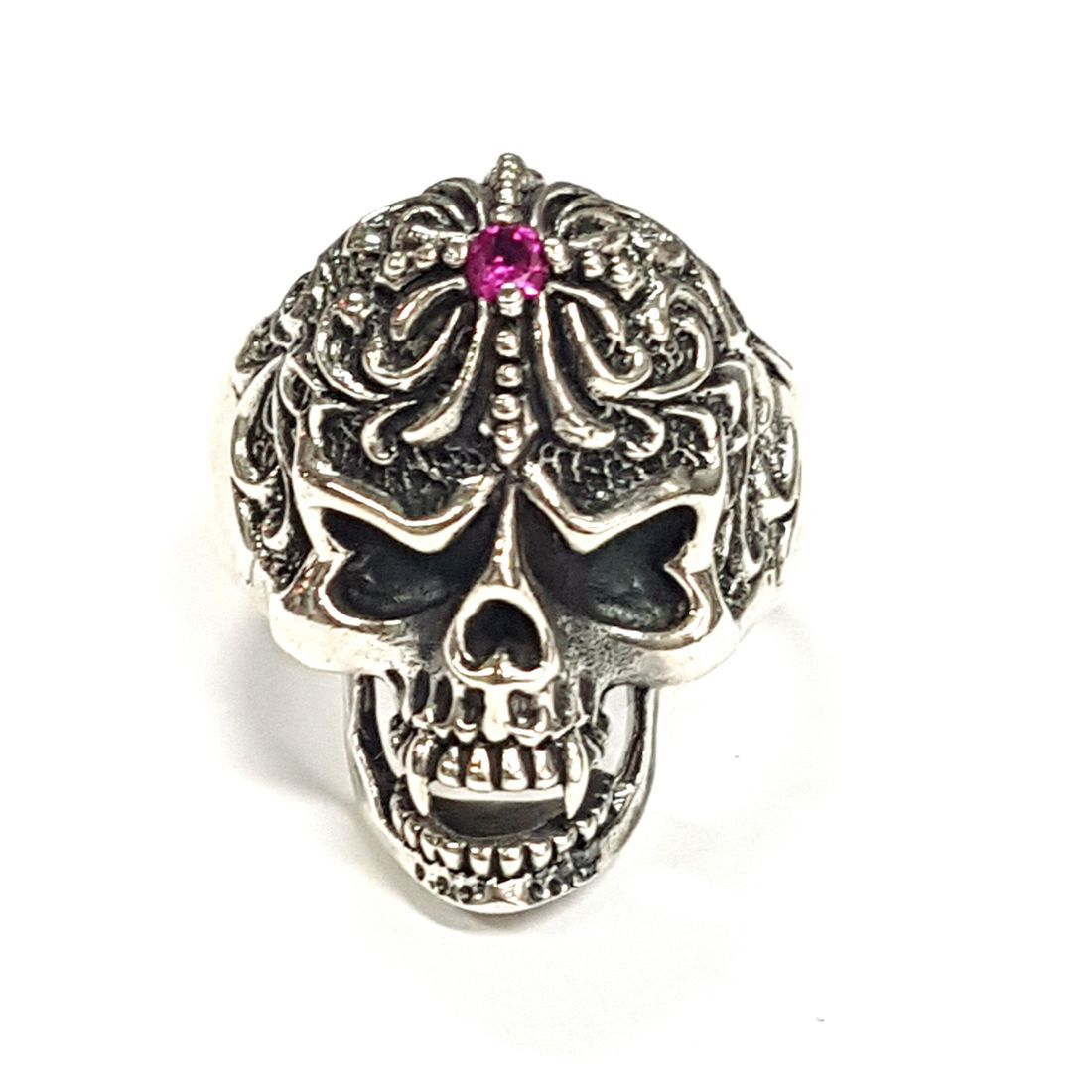 Decorative Skull Ring  available at Kazbah online and our Leicester City Centre shop