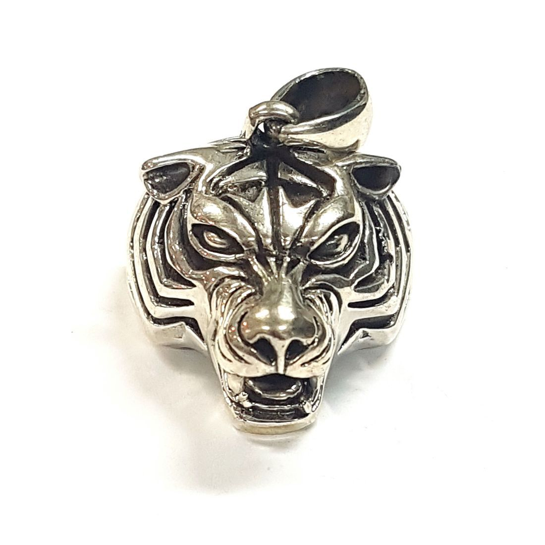 Tigers Head Pendant  available at Kazbah online and our Leicester City Centre shop