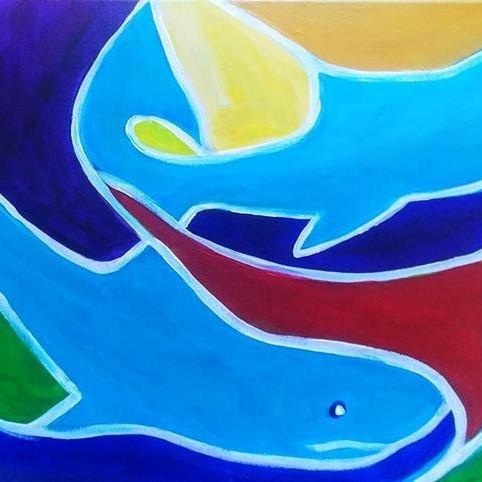 Salmon Abstract