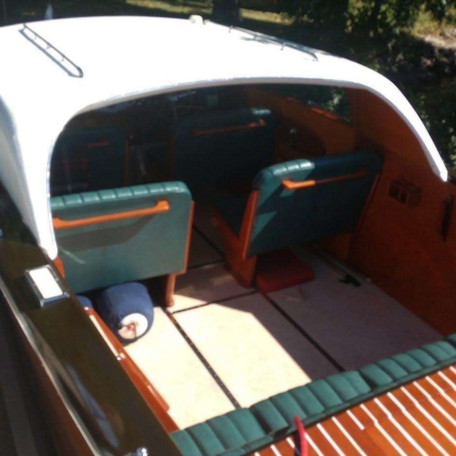 24 Shepherd wood boat for sale
