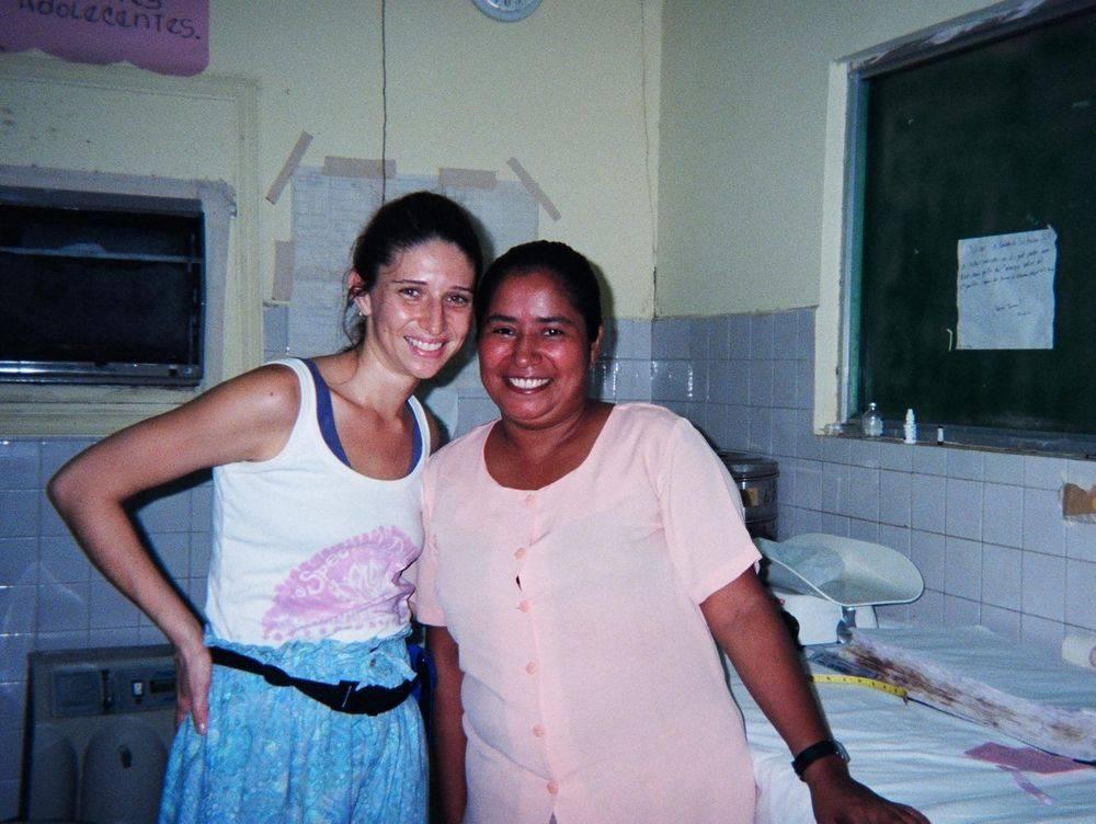 honduras birth student midwife