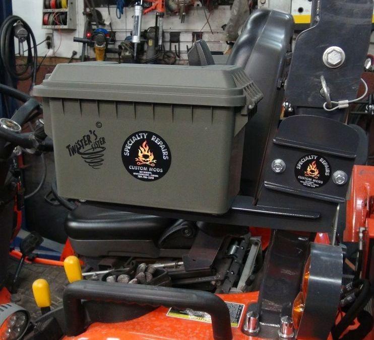 Kubota Tractor Tool Box. LX2610 LX3310 B2650