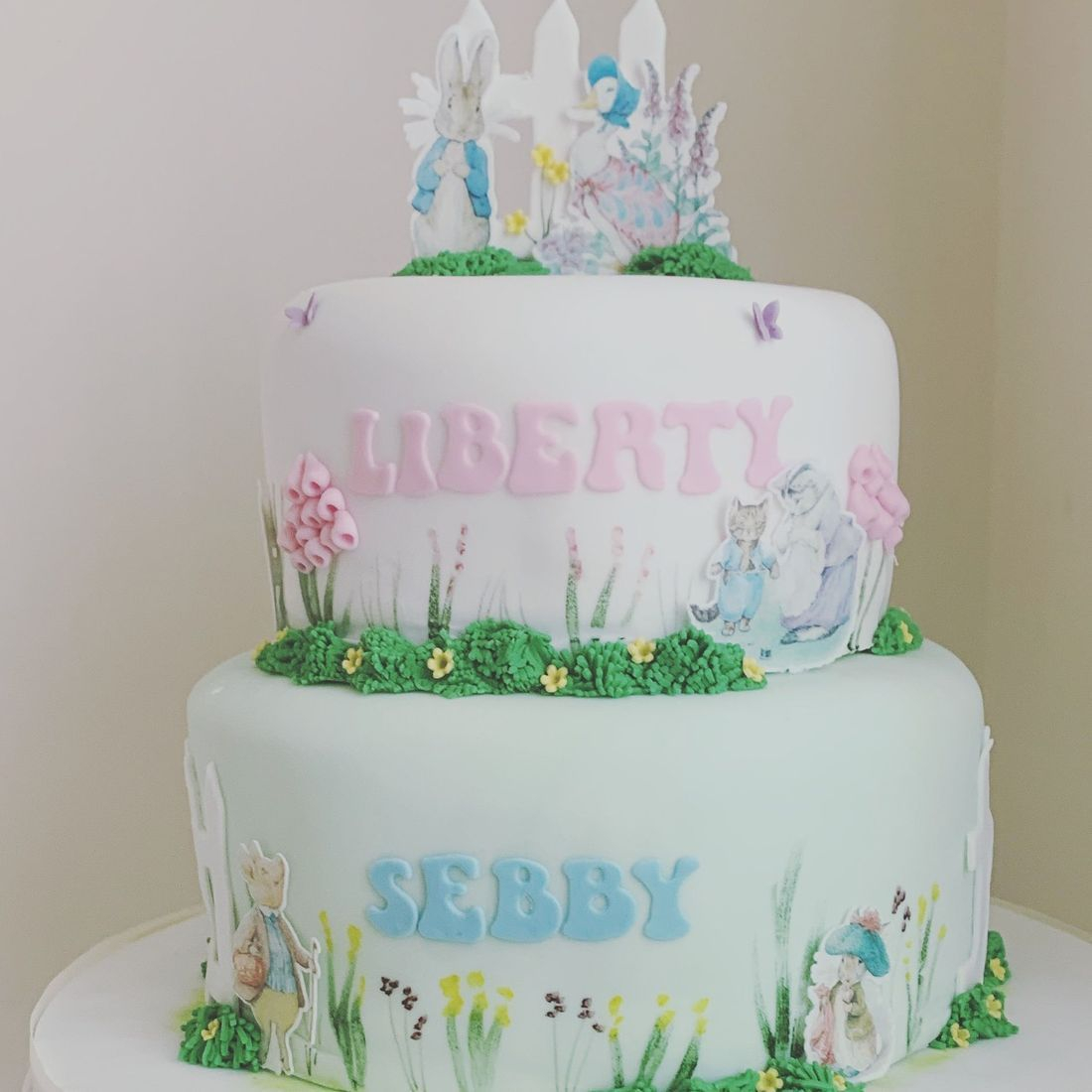 Beatrix potter cake Fabu-Lous Cakes