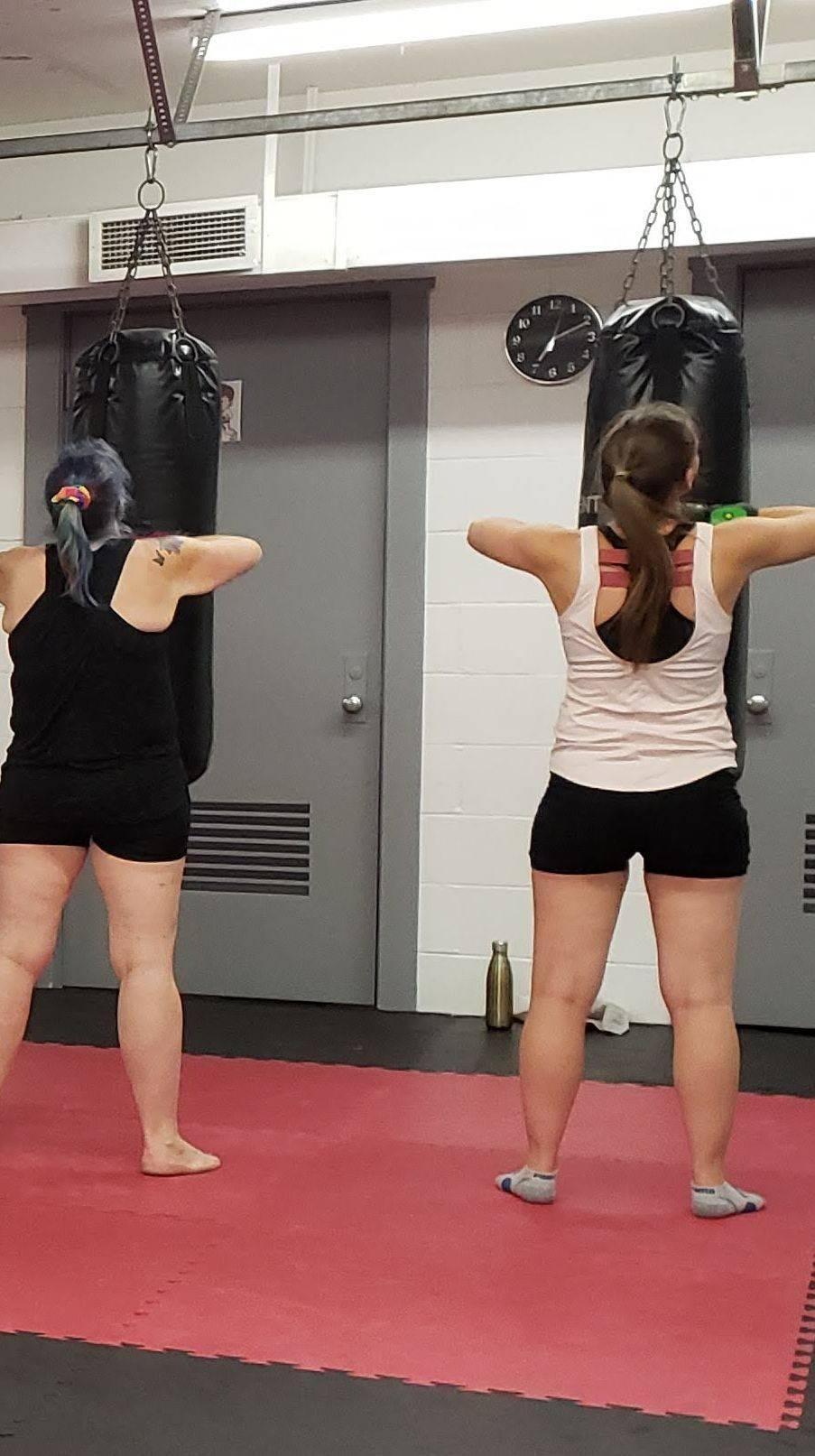 Cardio Kickboxing classes in St.Marys Ontario