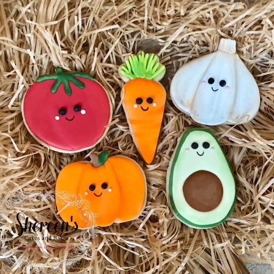 Kawaii vegetable Cookies
