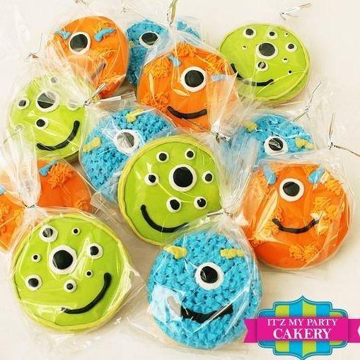 Monster Face Cookies Milwaukee