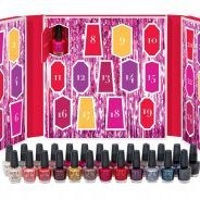 Spark a little joy eaopi holiday gift, exhalo spa gifts, OPI's Nail Lacquer Mini's Advent Calendar