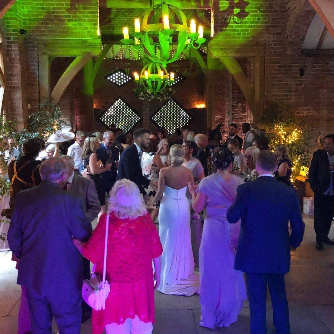 #Warwickshire #wedding #dj #weddingentertainment #barn #barnwedding #Shustoke Barn